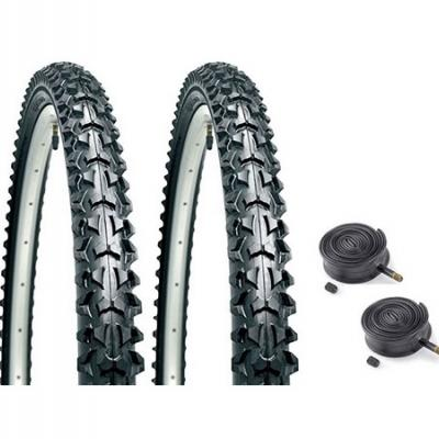 Tires of mtb, touring and road bikes, inner tubes, wheel rim tape accessories
